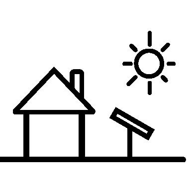 Dům ikona Svtech fotovoltaika