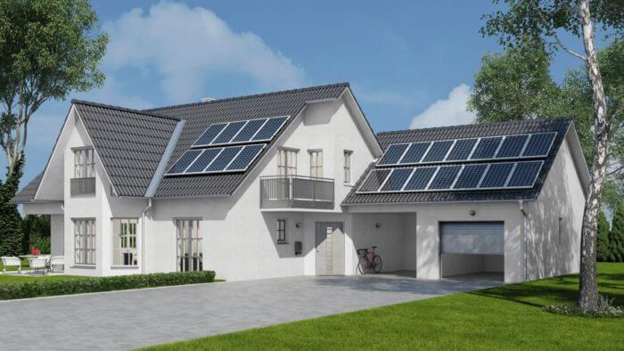 Dům fotovoltaika Svtech